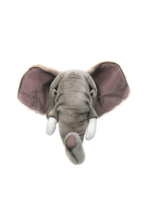 wall mounted elephant soft toy